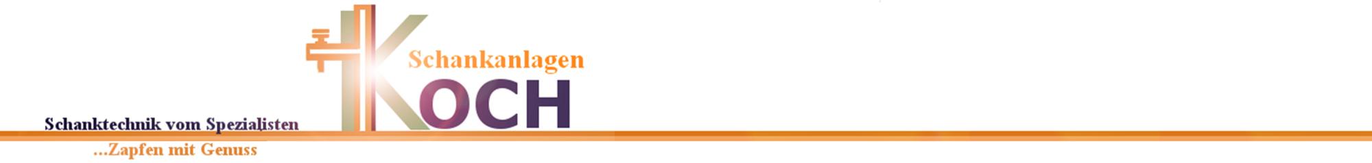 Schankanlagen-Koch- Ihr Profi für Schanktechnik und Gastrobedarf-Logo
