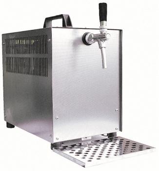 Bierzapfanlage Trockenkühlgerät  60 l 1-leitig im Edelstahlgehäuse